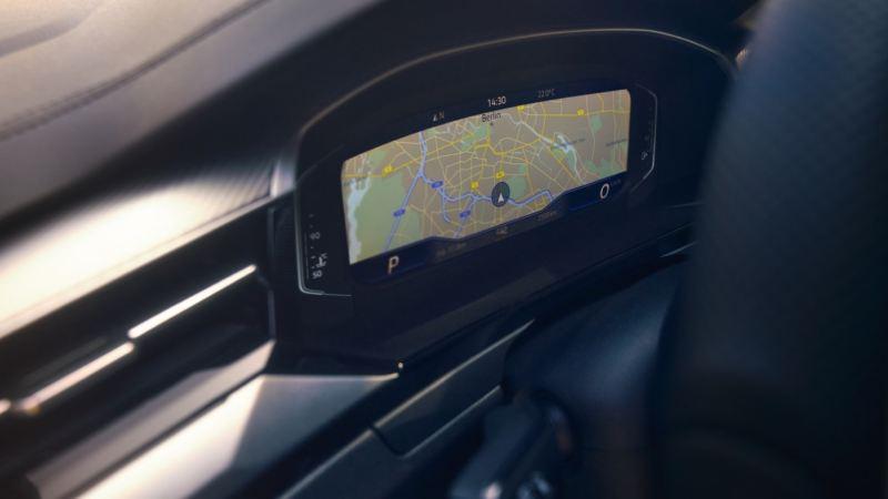 Vista del panel Digital Cockpit Pro en el salpicadero de un Nuevo Volkswagen Arteon