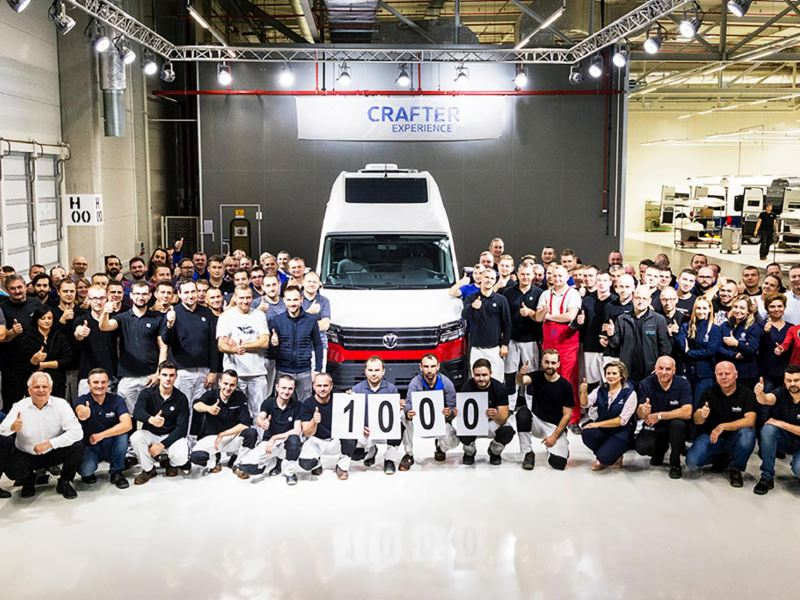 1 000 Volkswagen Grand California levererade