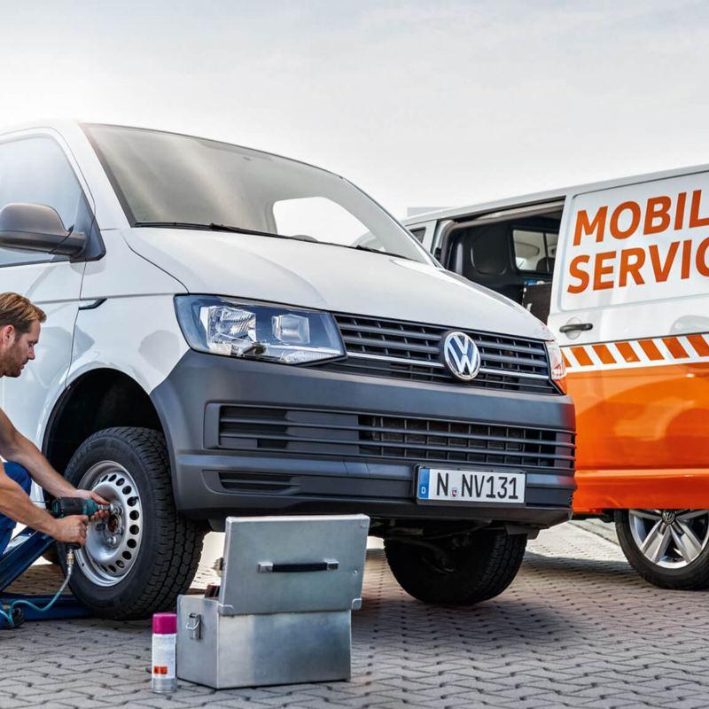Unidades móviles de servicio Volkswagen