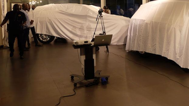 unveiling the new touareg in ghana