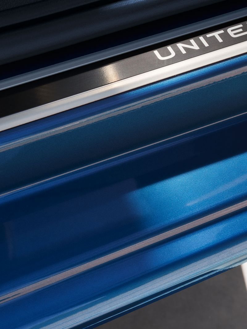 UNITED Lettering in Aluminium