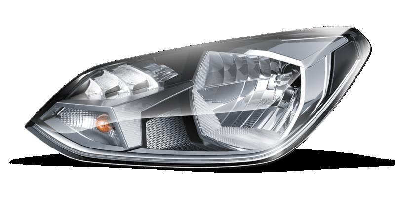Immagine scontornata del gruppo ottico di Volkswagen eco up!