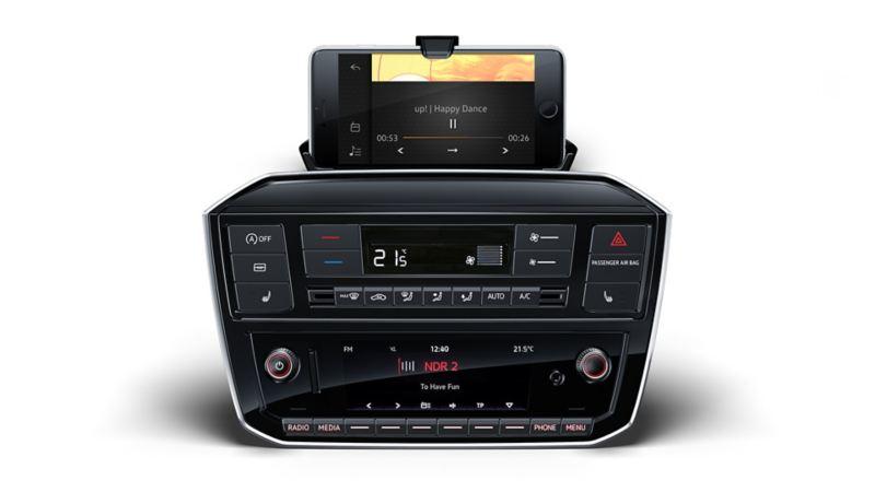 Musikk i Volkswagen up!