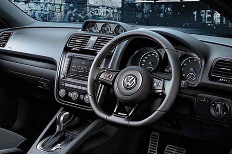 interior of Scirocco