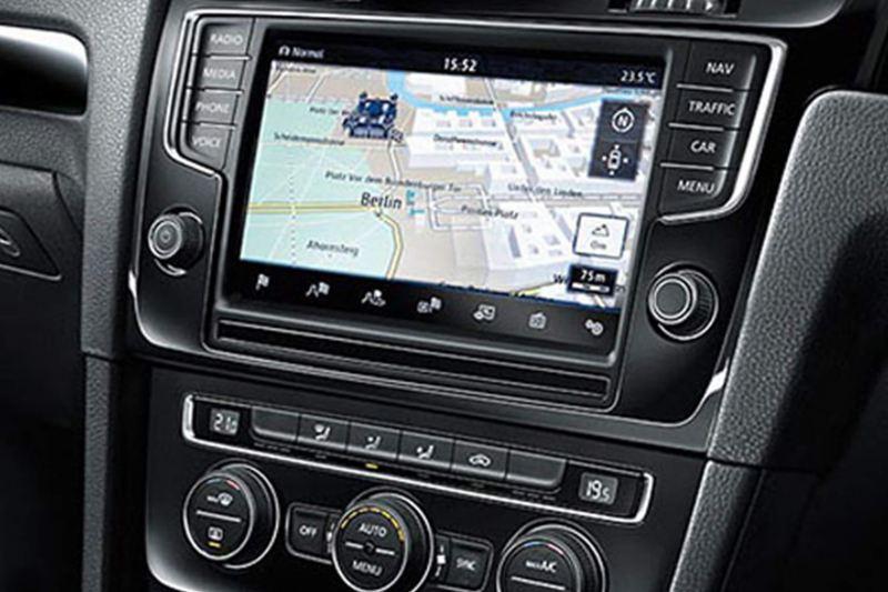 interior dashboard of Scirocco