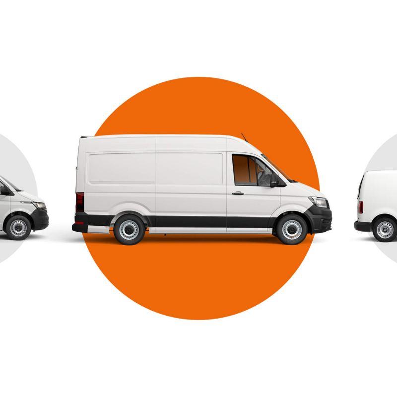 Transporter shuttle van in grey