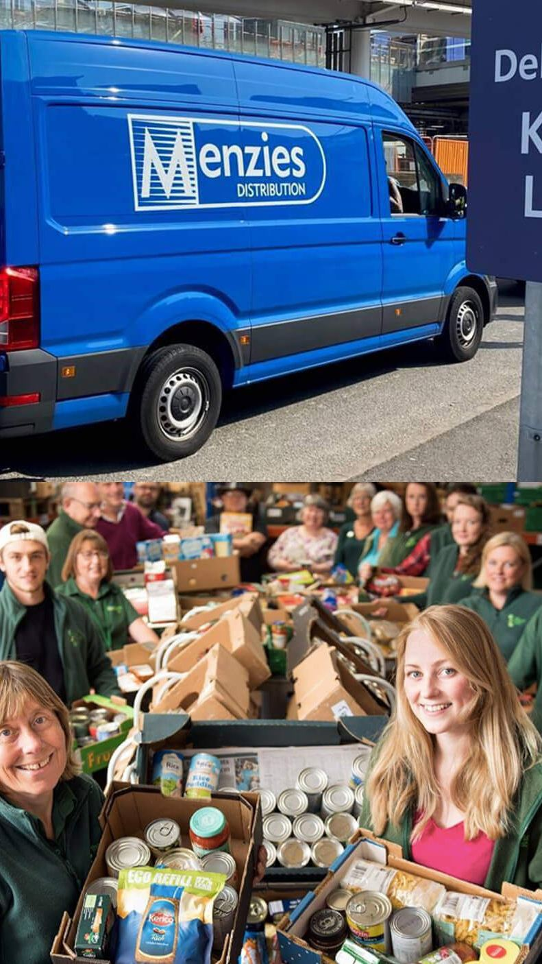 Employees from key businesses and their Volkswagen Commercial Vehicles