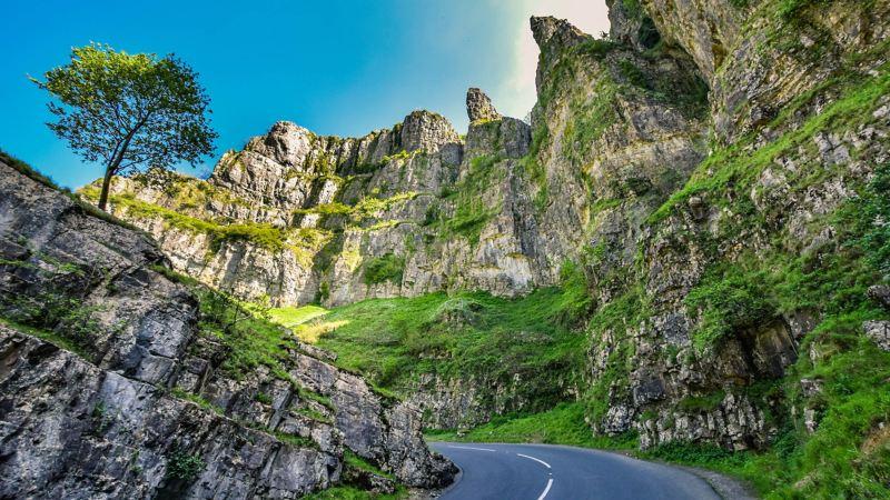 Cheddar Gorge landscape