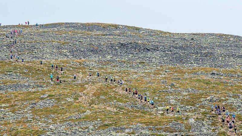 UPP OCH NER över de finska fjällen. Foto: Guillem Casanova