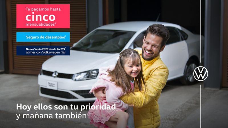 Vento 2020 - Estrena este sedán Volkswagen con ofertas de cinco mensualidades y seguro de desempleo
