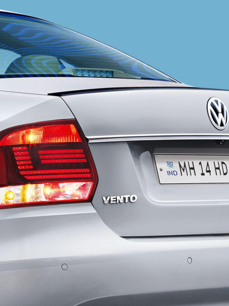 Vento Turbo edition Gloss Black Spoiler
