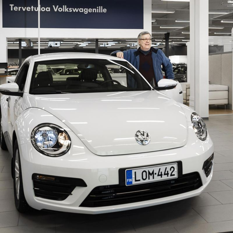 Viimeinen uusi Volkswagen Beetle päätyi hyvään kotiin