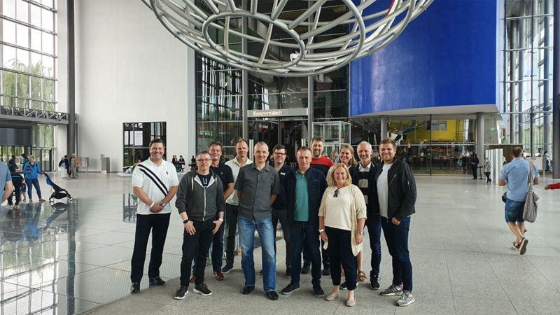Heldige vinnere i Wolfsburg
