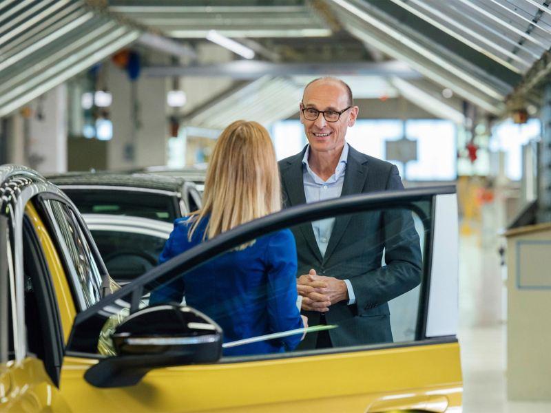 Ralf Brandstätter CEO of the Volkswagen brand