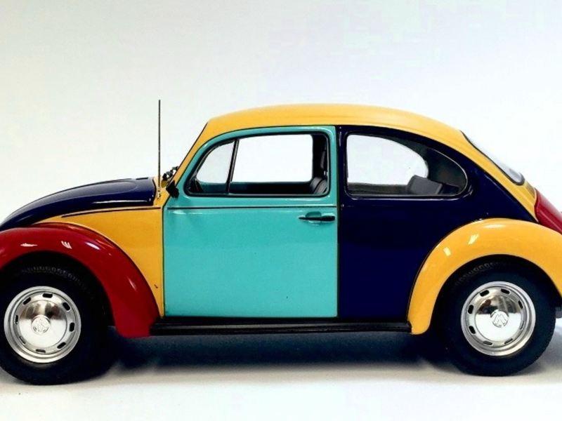 Vocho Edición Arlequín - La versión colorida del auto clásico de Volkswagen