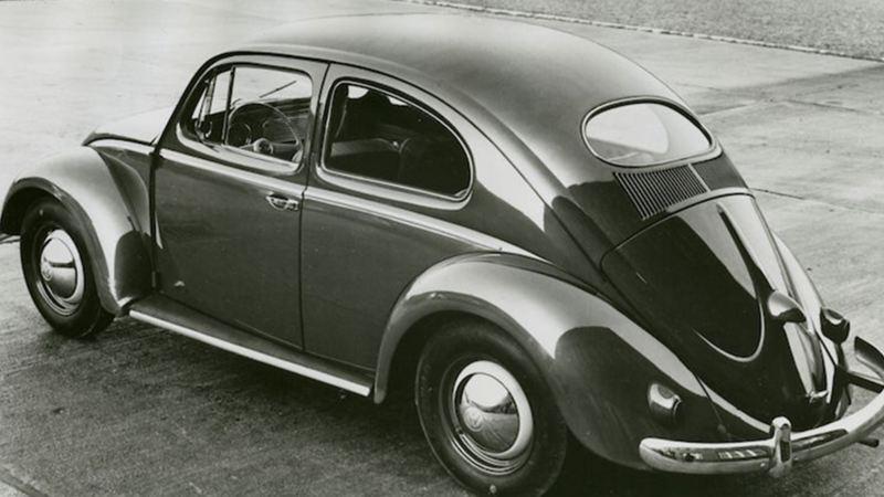 Vocho, el primer automóvil producido por Volkswagen