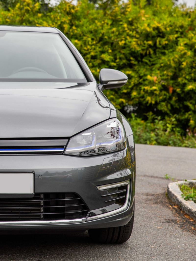 Volkswagen e-Golf elbil med lakkbeskyttelse