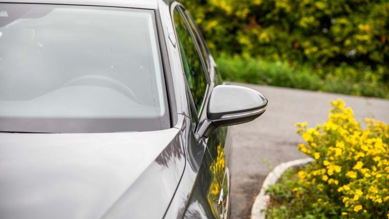Lakkbeskyttelse mot slitasje på Volkswagen e-Golf elbil