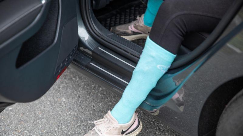Lastekantbeskyttelse til Volkswagen e-Golf
