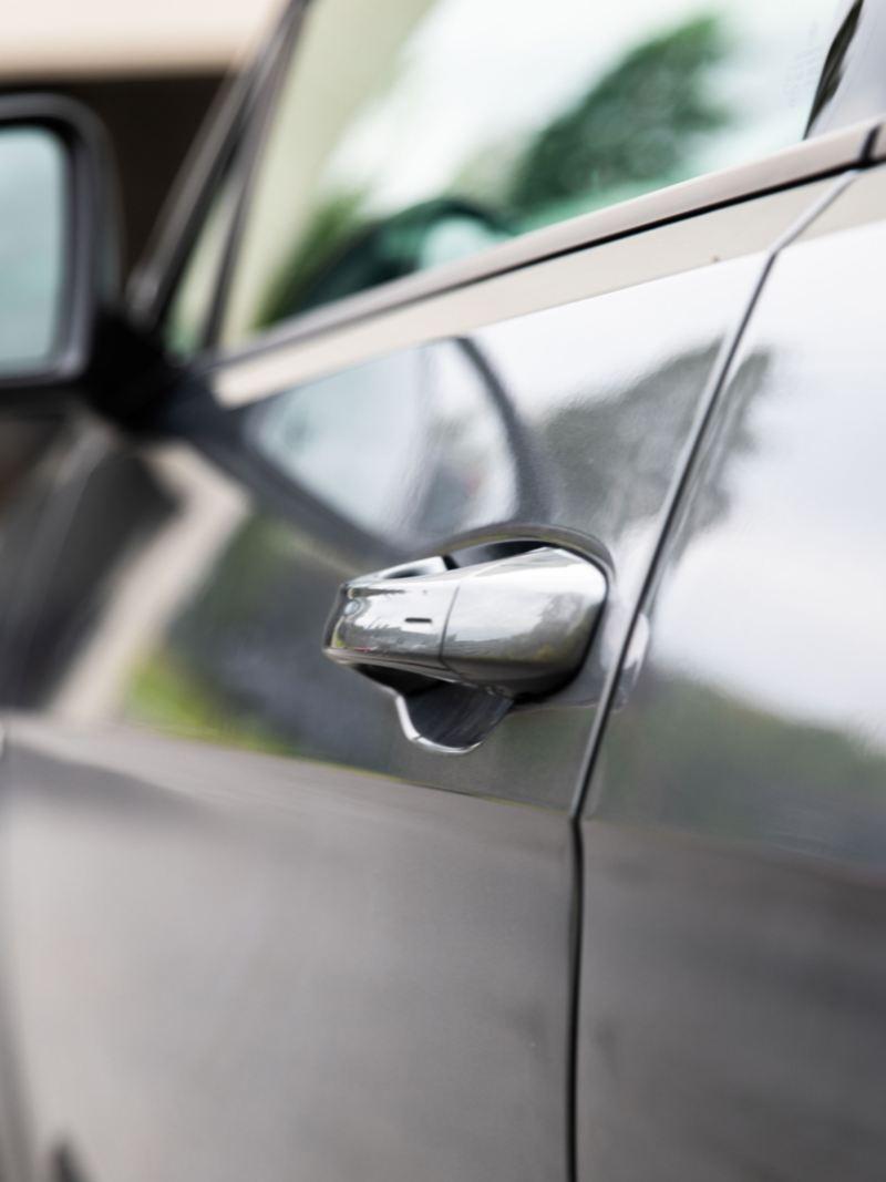 Volkswagen e-Golf med lakkbeskyttelse ren lakk