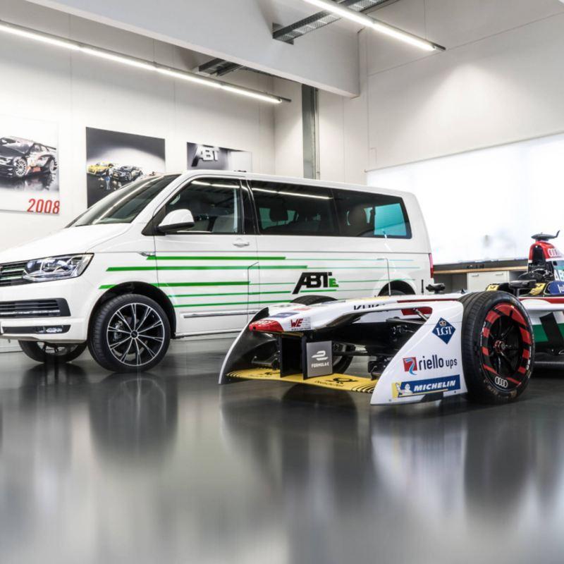 Volkswagen ABT e-Transporter elbil