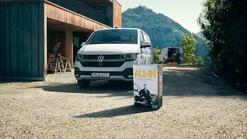 Volkswagen Transporter 6.1 med en All-in dunk
