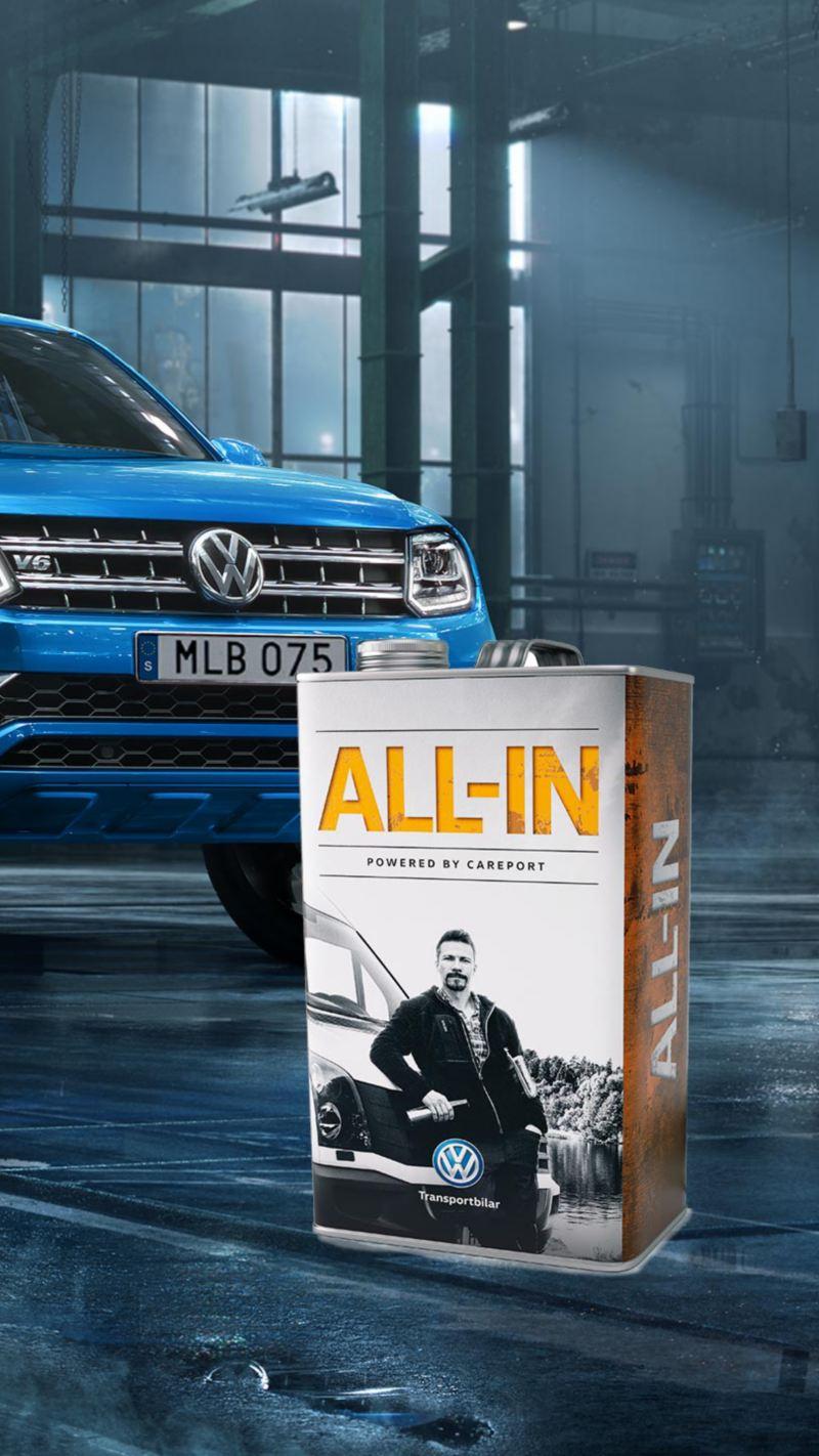 Volkswagen Amarok med en All-in dunk
