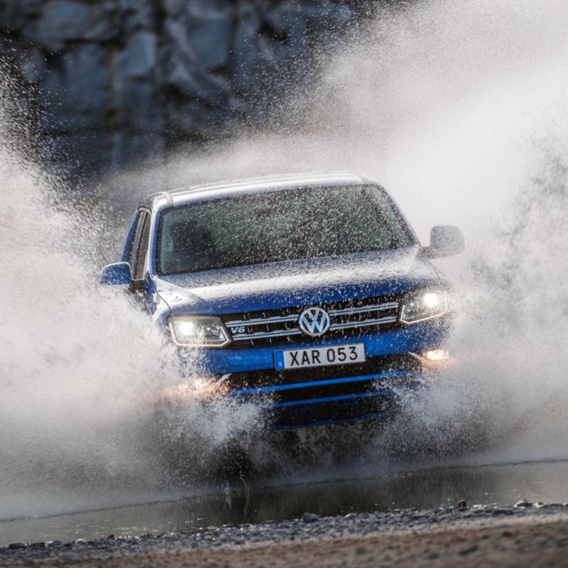 Volkswagen Amarok Aventura offroad.