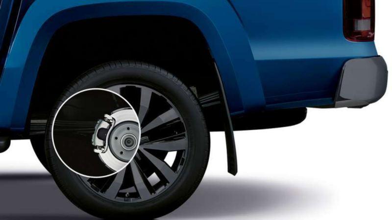 Volkswagen Amarok frenado hidraulico