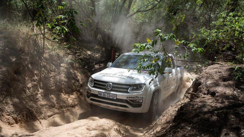 Volkswagen Amarok i sitt rätta element: på rally i Sydafrika
