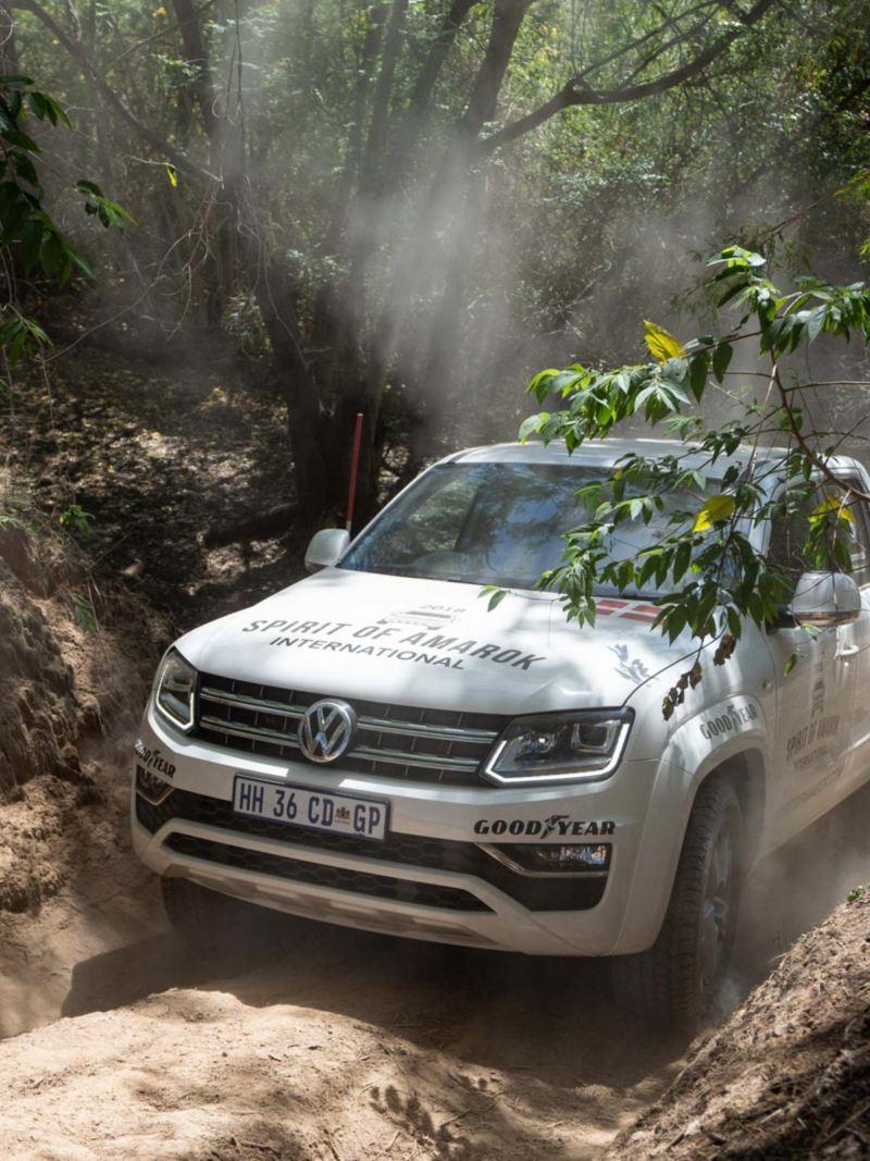 Volkswagen Amarok i sitt rätta element - offroad på tävling i Sydafrika!