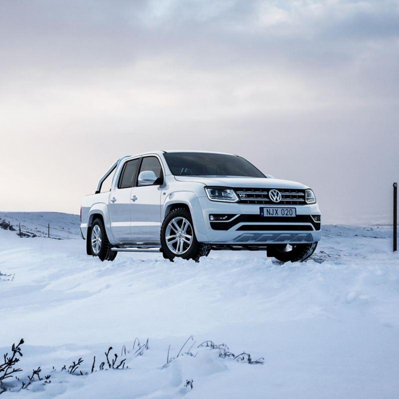 Volkswagen Amarok pickup i fjällen