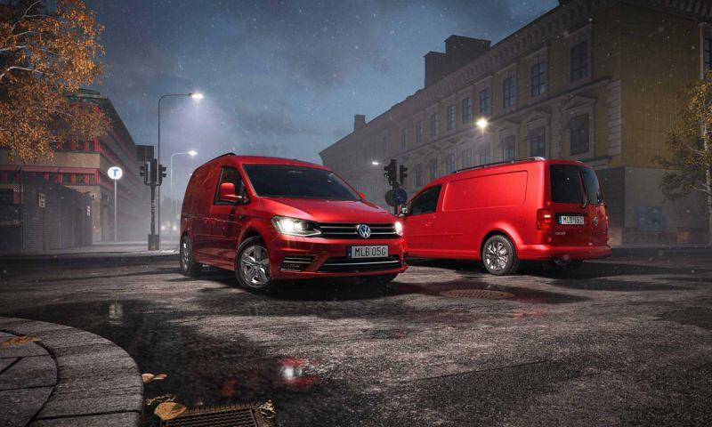 VW Caddy Drive skåpbil erbjudande