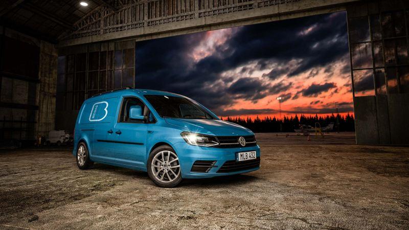 Volkswagen Caddy Skåp TGI gasbil