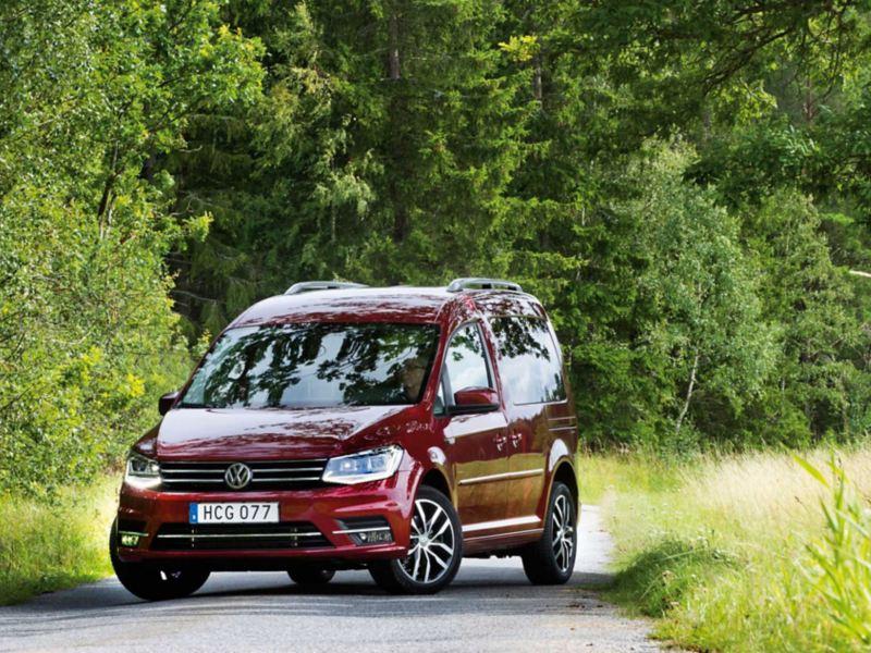 Provkörning av VW Caddy