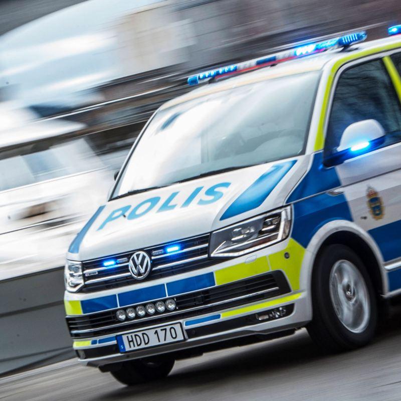 Volkswagen Caravelle polisbil