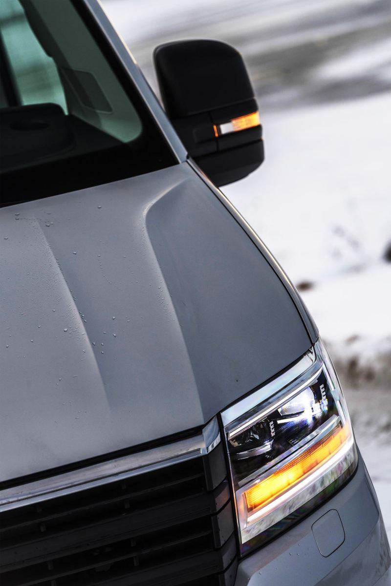 Framlampa på Volkswagen Crafter