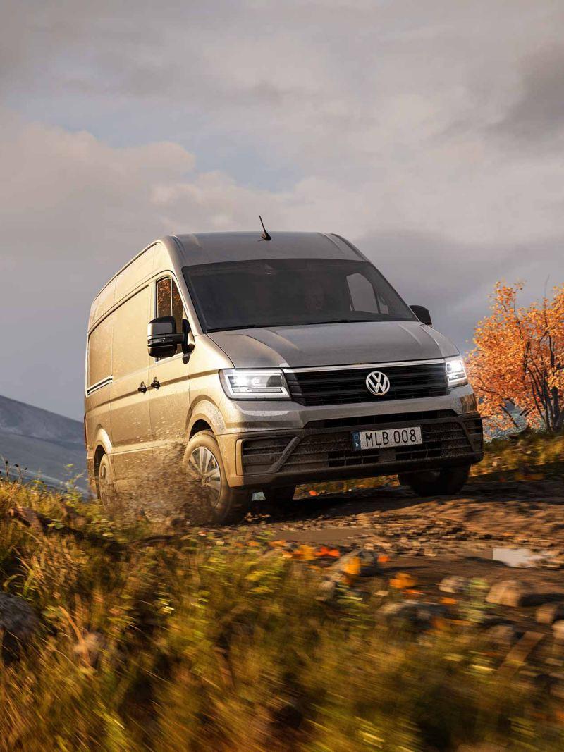 Volkswagen Crafter på höstväg