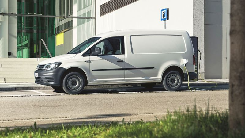 Volkswagen ABT e-Caddy laddar