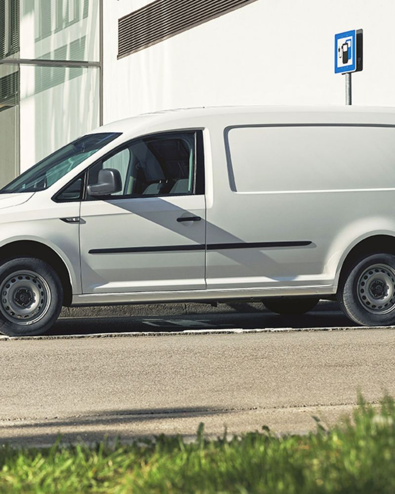 Volkswagen e-Caddy laddar
