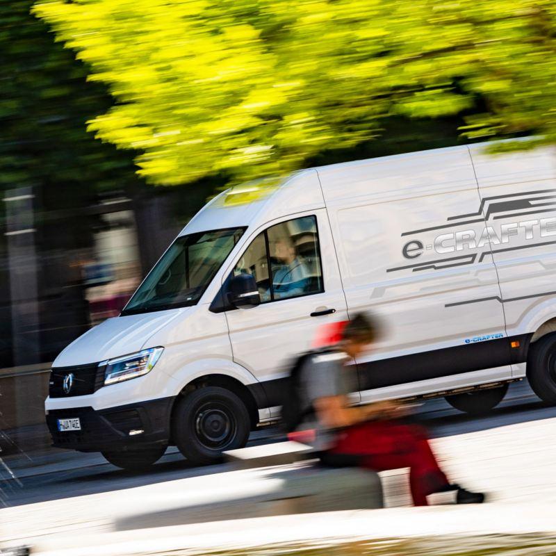 Nya Volkswagen e-Crafter - 100 % eldriven