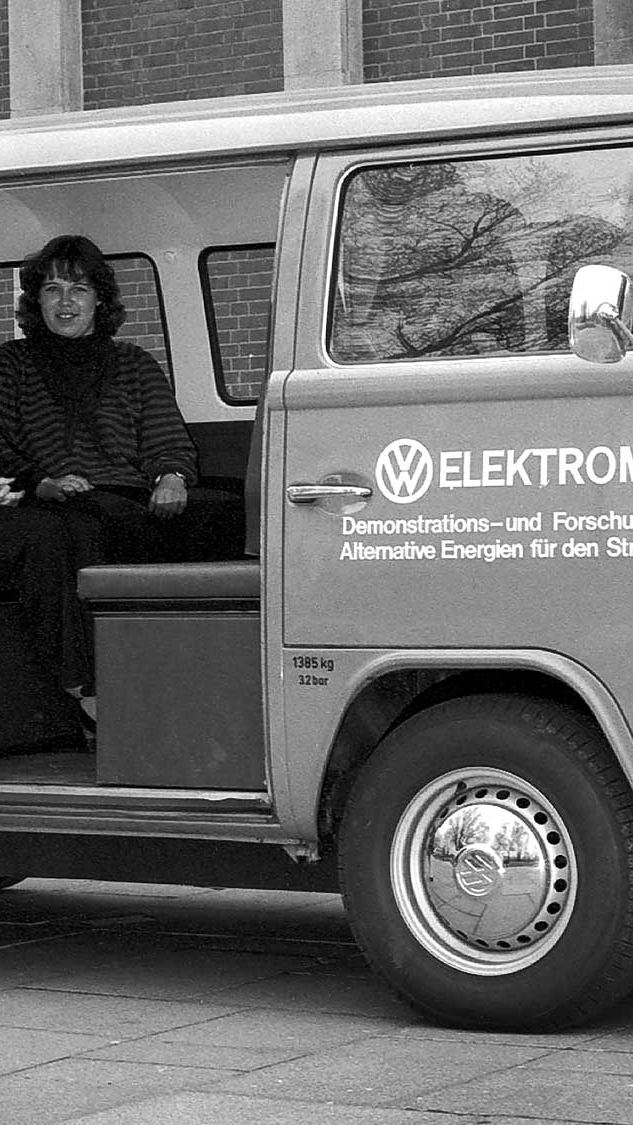 En Volkswagen Elektromobil från 1972