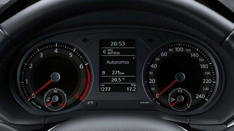 Volkswagen Gol Sedan Display multifuncional