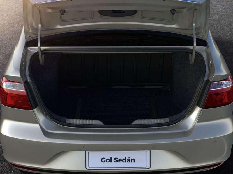 Volkswagen Gol Sedan Capacidad de Carga