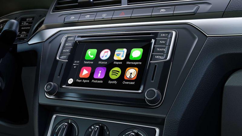 Volkswagen Gol Sedan infotenimiento tactil