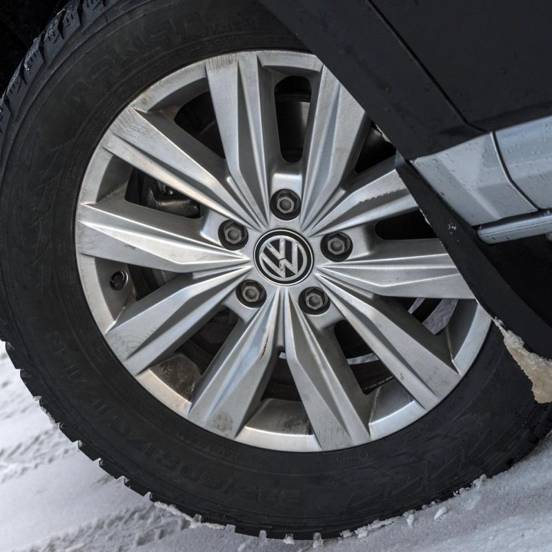 Volkswagen hjulsida dubbdäck