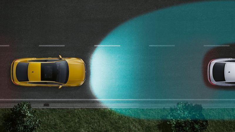 Volkswagen Jetta Gli sistema Light Assist