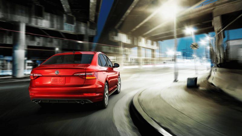 Volkswagen Jetta Gli traseras en LED