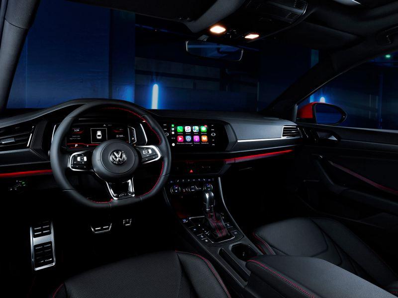 Volkswagen Jetta Gli luz ambiental