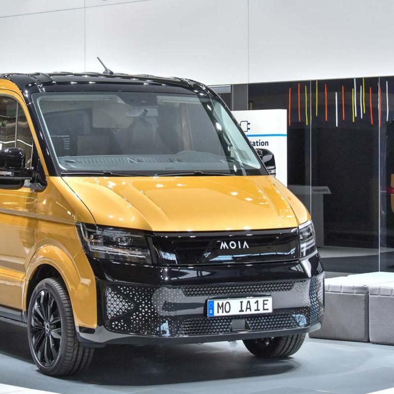Volkswagen MOIA - en eldriven samåkningsbuss